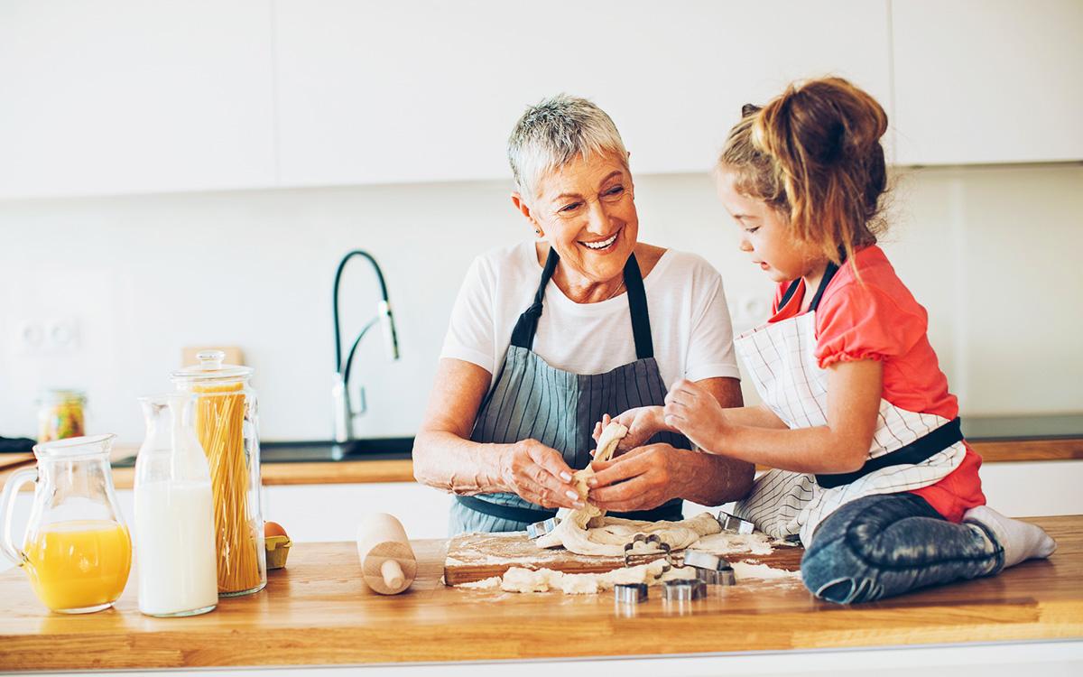 Alle profitieren - Großeltern